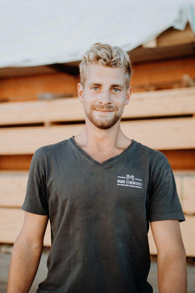 Simon Kaffl, Zimmerergeselle und Vorarbeiter